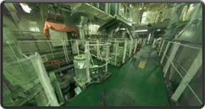 3D laser scanning and on board survey